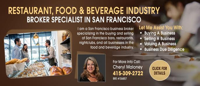 Cheryl Maloney Restaurant Broker San Francisco