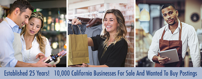 California Small Businesses For Sale