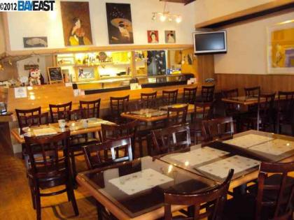 Pleasanton Japanese Restaurant For Sale
