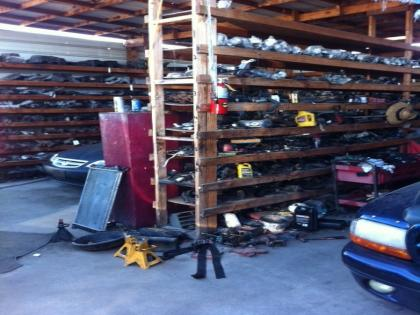 Auto Wrecking Yard Business For Sale