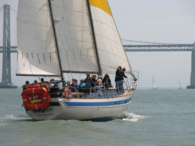 San Francisco - Pier 39  Sailing Charter Company, Lessons And School For Sale