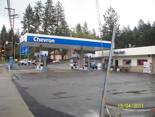 Paradise Chevron Mini Mart, Gas Station With Real Estate For Sale