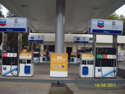 Chevron Mini Mart, Gas Station With Real Estate Business For Sale