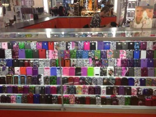 Cell phone accessories kiosk business for sale