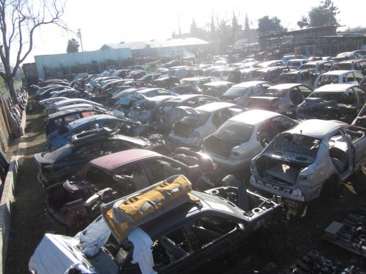 Stockton, Central Valley Used Auto Parts Salvage Recycling Dismantler Yard For Sale