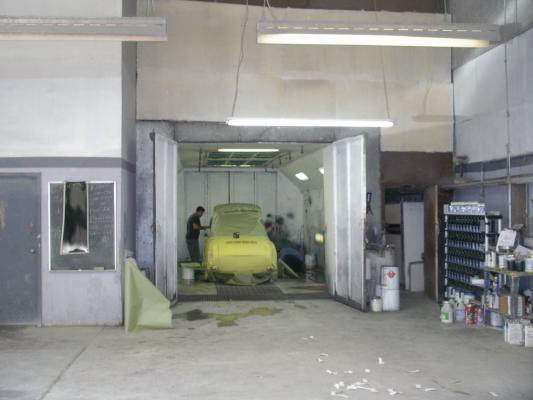 Auto body and paint shop for sale in north hollywood for Car paint shop