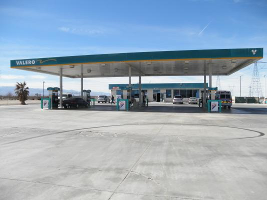 San Bernardino County Gas Station With Market And Property For Sale