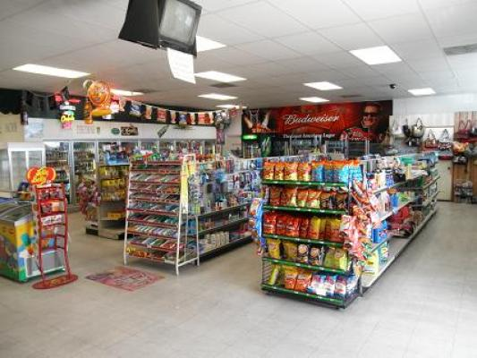 Gas Station With Market And Property Business For Sale