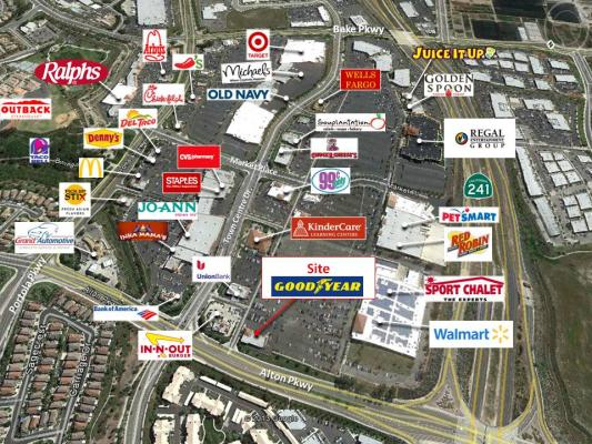 South Orange County Two Goodyear Tire Stores - High Volume, Profit For Sale