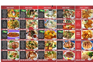 Thai And Chinese Fast Food Restaurant Business For Sale