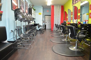 Los Angeles Hair Salon Prime Area Great Low Rent For Sale