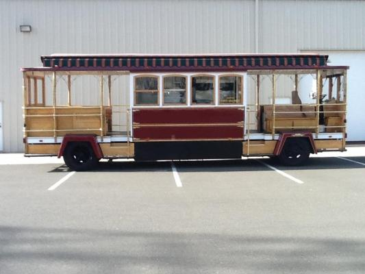 Sonoma - Relocatable Very Unique Cable Car Trolley Opportunity For Sale