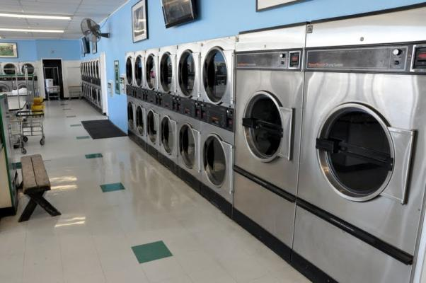 Large Card Laundromat - Best North County Location Business For Sale