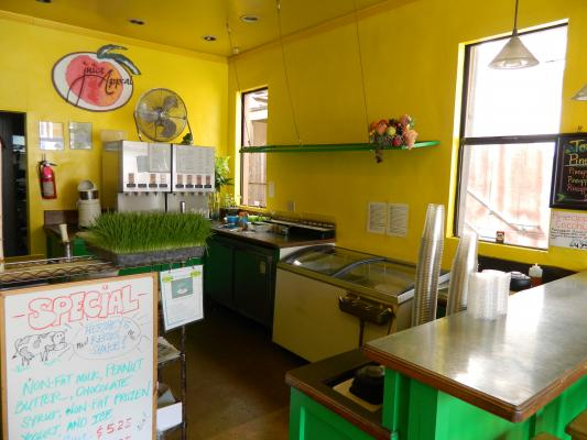 Juice And Smoothies Shop Business For Sale