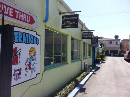 Long Beach Dry Cleaners With Drive Thru And Property For Sale