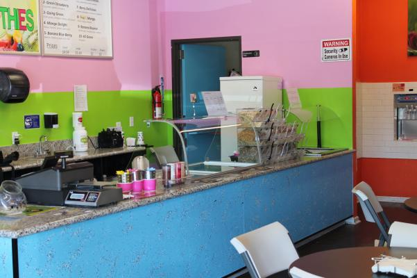 Vallejo Self Serve Frozen Yogurt And Smoothie Shop For Sale