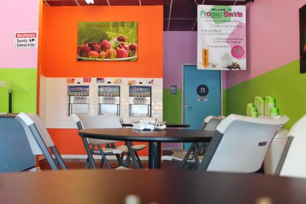 Self Serve Frozen Yogurt And Smoothie Shop Business For Sale