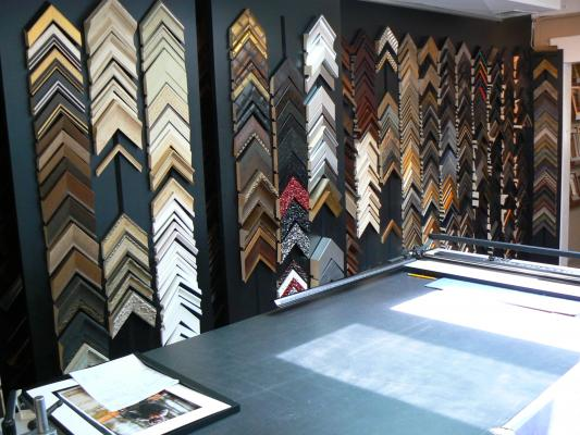 Custom Picture Framing Shop Business For Sale