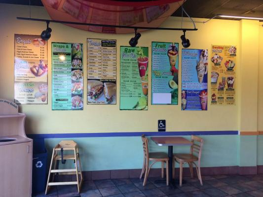 Smoothie And Juice Cafe Business For Sale