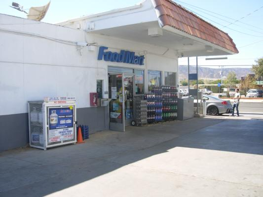 Antelope Valley, LA County Chevron Gas Station With Land Drive Thru Dairy For Sale