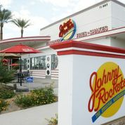 Palm Springs Valley Johnny Rockets Fast Food Restaurant For Sale