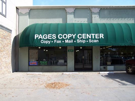 Redding, Shasta County Copying Printing Mailing Shipping Service For Sale