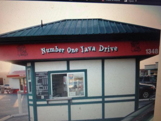 Coffee Drive Thru Kiosk Business For Sale