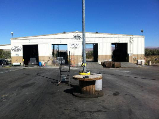 High Desert Truck Wash With Property For Sale