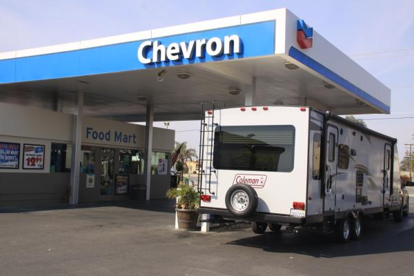 Bakersfield, Kern County Gas Station Car Wash, RE - Busy Chevron Station For Sale
