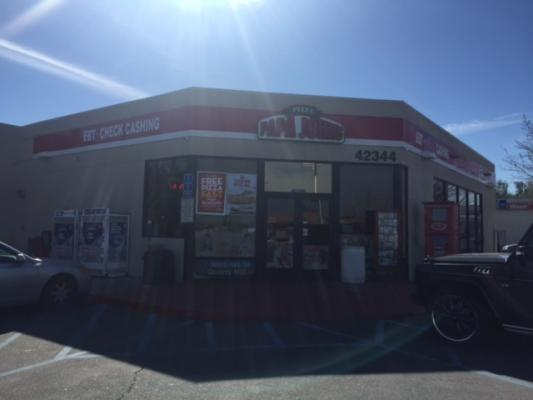 Antelope Valley  Gas Station With Car Wash And Pizza Shop For Sale