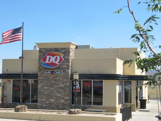 Riverside County Dairy Queen Drive-Thru With Real Estate - Absentee For Sale