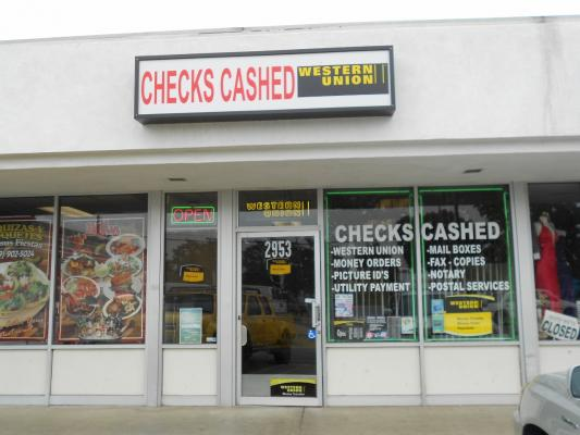 Ontario Area Check Cashing Store For Sale