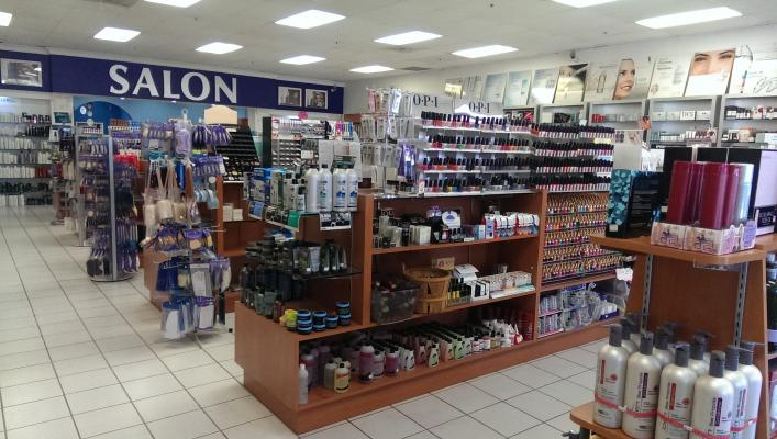 Beauty Supply And 6 Station Full Service Salon Business For Sale