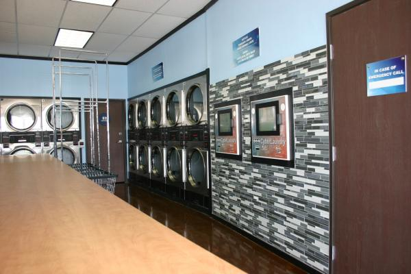 Remodeled Card Laundromat Business For Sale