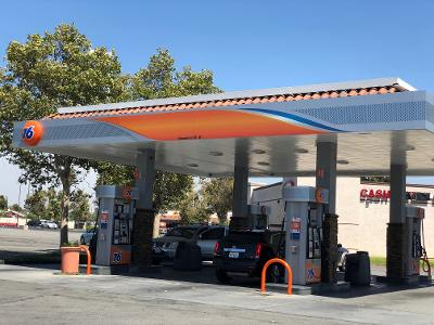 Moreno Valley Riverside County 76 Gas Station And Market With Land Business For Sale