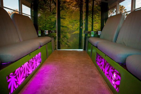 Mobile Doctors Office Cannabis Limo Bus Service Business For Sale