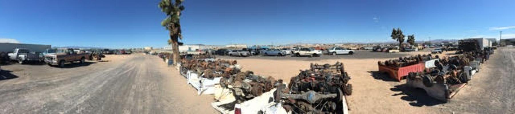 Los Angeles Auto Salvage Yard With Property For Sale