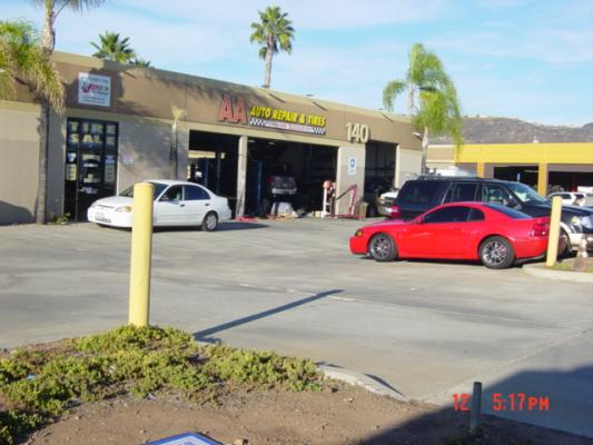 El Cajon, San Diego County Auto Repair Shop And Tire Store - Stable Cash Flow For Sale