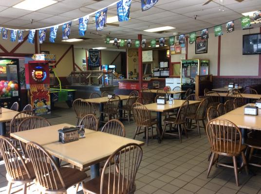 Merced County Franchise Pizza Restaurant For Sale