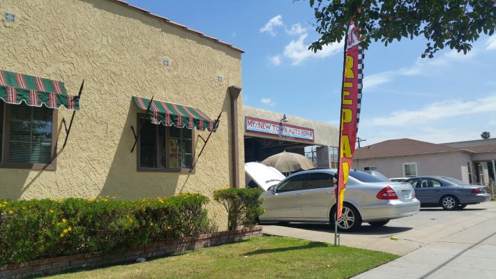Long Beach, LA County Auto Repair Shop With Real Estate For Sale