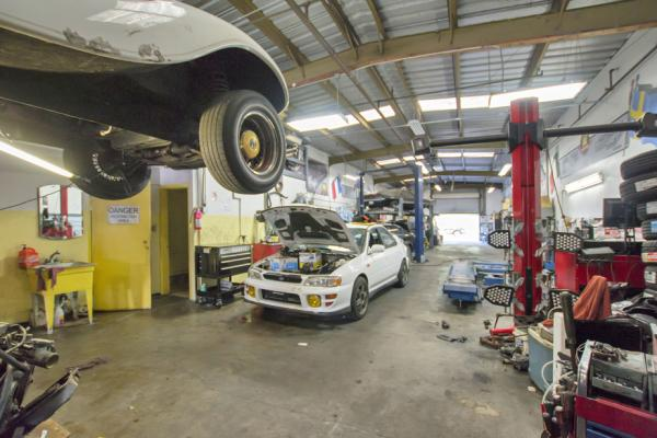 South San Francisco Auto Body Auto Repair Shop With Real Estate For Sale