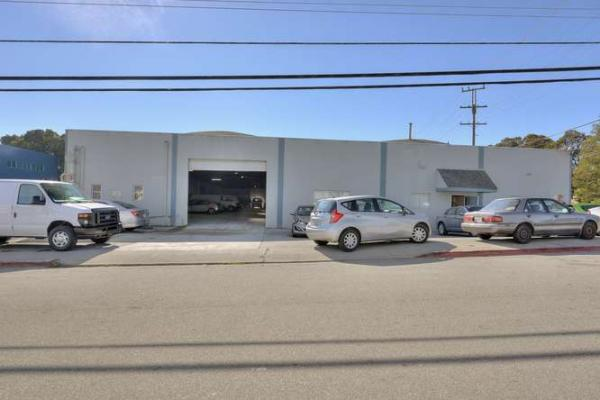 Burlingame, San Mateo County Auto Body And Paint Shop - High Traffic Location For Sale