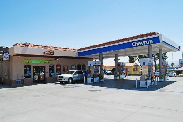 Southern California Chevron Extra Mile Gas Station With Car Wash For Sale