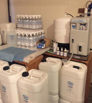 San Francisco Bay Area E Plan Magic Cleaning Water Distributor For Sale