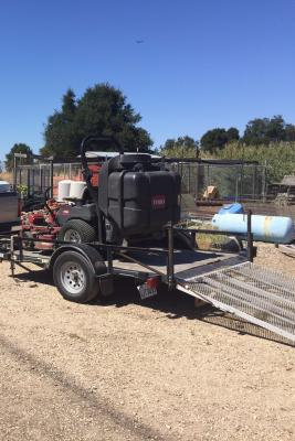 Central Coast Wine Country Commercial Landscape Maintenance For Sale