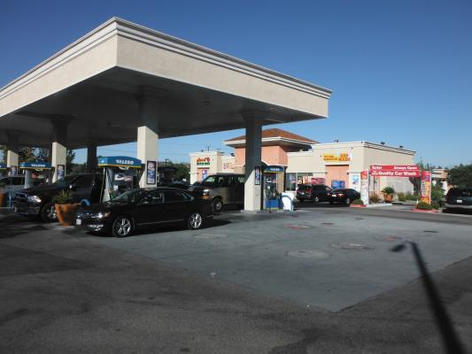 Temecula Valero Gas Station C-Store Car Wash With Land For Sale