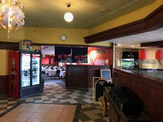 Burlingame, San Mateo County Sushi Restaurant - Remodeled New For Sale