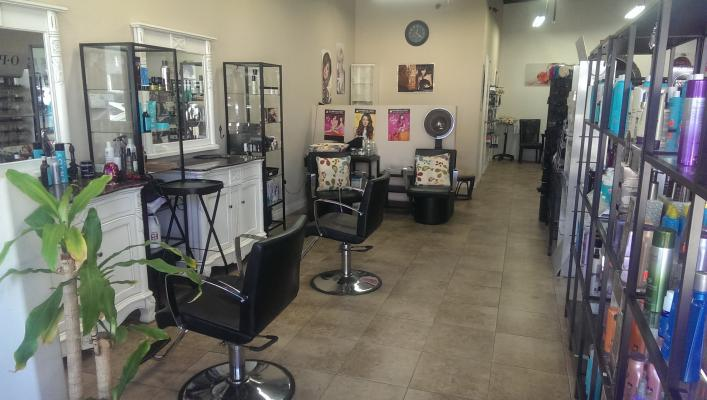 Yorba Linda Beauty Salon With Beauty Product Sales For Sale