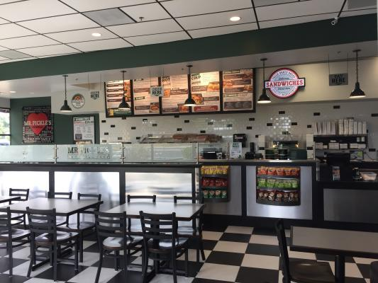 Elk Grove, Sacramento Area Mr. Pickles Sandwich Shop For Sale