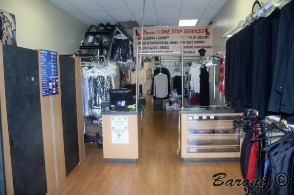 South Orange County Dryclean Agency Tailoring Tuxedo Rental Services For Sale